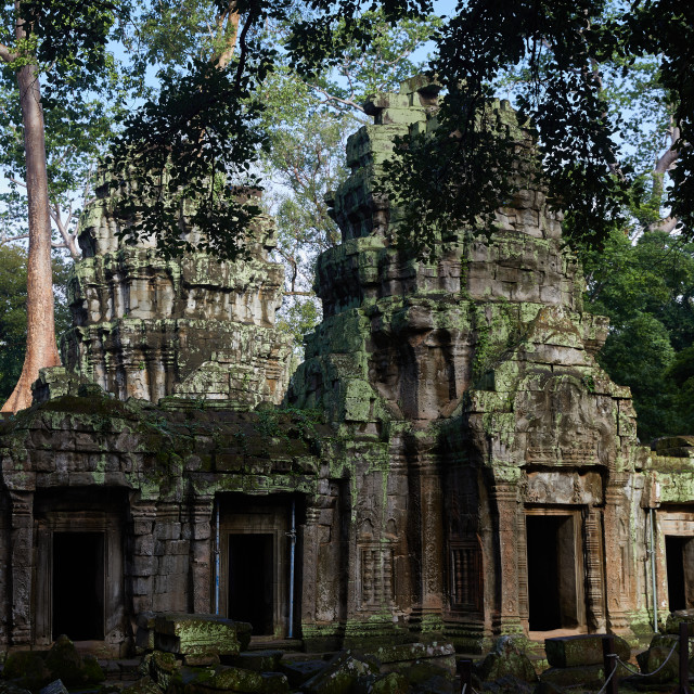 """Angkor Archeological Park, Cambodia"" stock image"