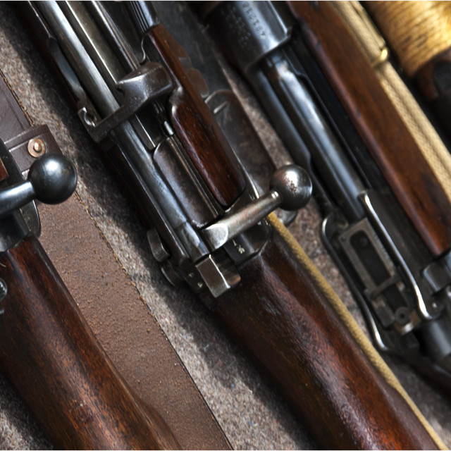 """Rifle 5"" stock image"