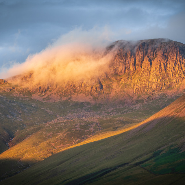 """Scafell"" stock image"