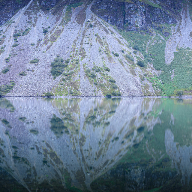 """""""The Screes"""" stock image"""