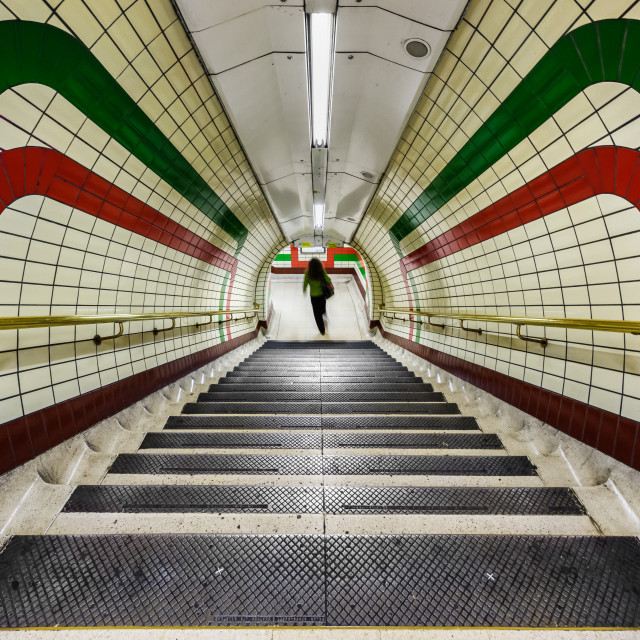 """Piccadilly Circus Underground Station, London, UK (I)"" stock image"