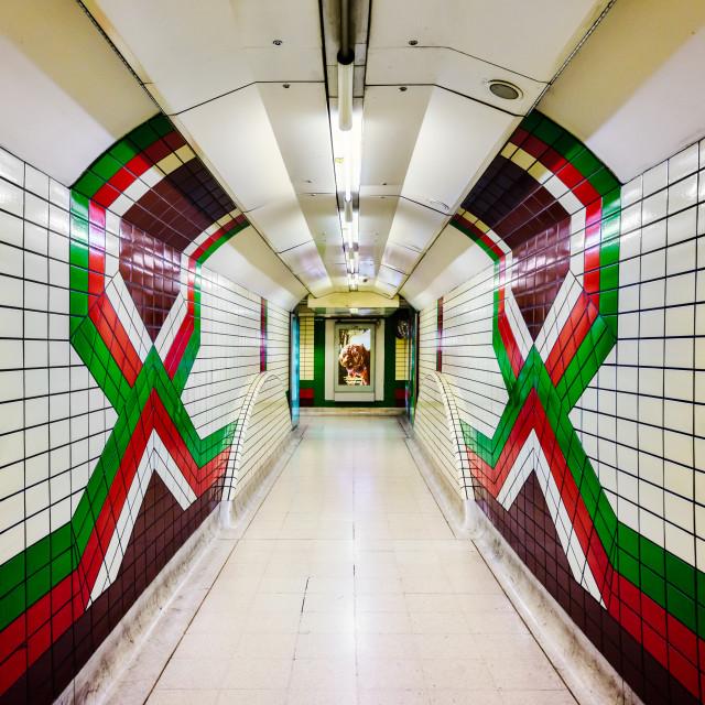 """""""Piccadilly Circus Underground Station, London, UK (II)"""" stock image"""