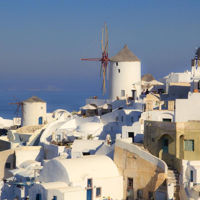"""Santorini Island, Greece"" stock image"