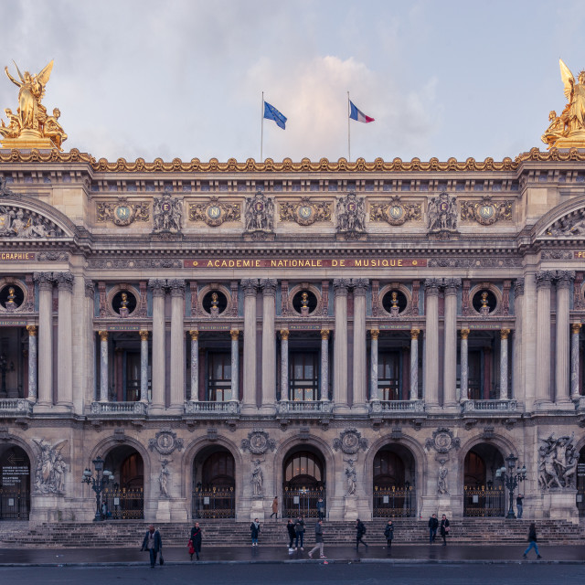 """Palais Garnier // Paris, France"" stock image"