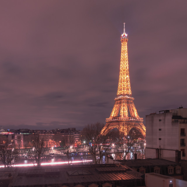 """Eiffel Tower // Paris, France"" stock image"