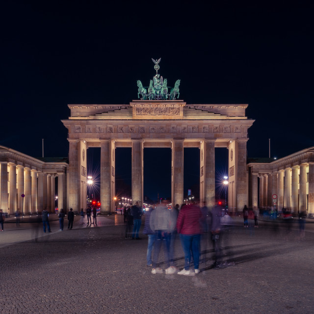 """Brandenburg Gate // Berlin, Germany"" stock image"