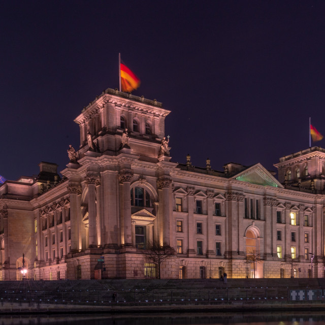 """Reichstag building // Berlin, Germany"" stock image"