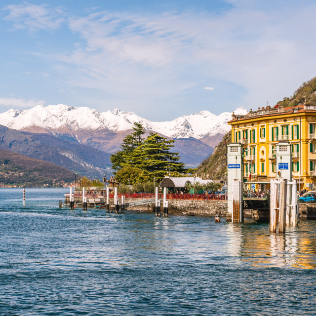 """Village of Varenna // Lake Como, Italy"" stock image"