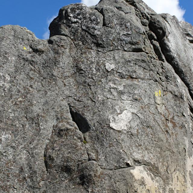 """""""Climbing rock"""" stock image"""