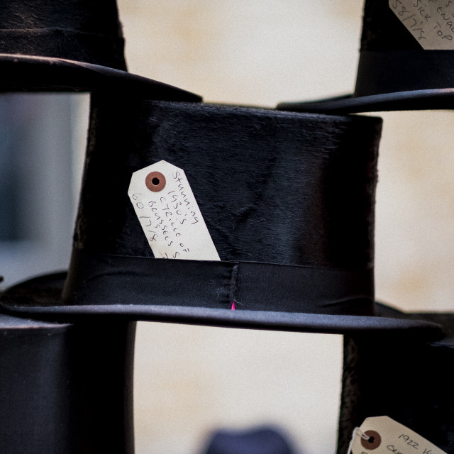 """""""Vintage Tophats"""" stock image"""