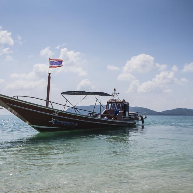 """Thai Boat"" stock image"