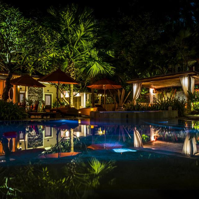 """""""Night Scene in Ko Samui"""" stock image"""
