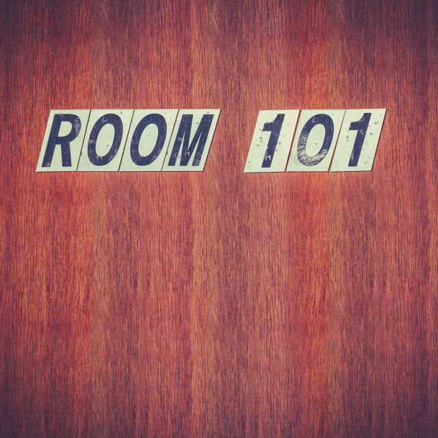 """Room 101 Fear Concept"" stock image"