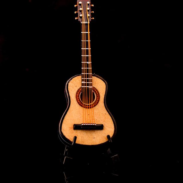 """Guitar solo"" stock image"