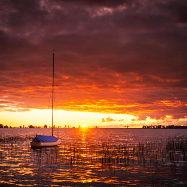 """Destination: Sunrise"" stock image"
