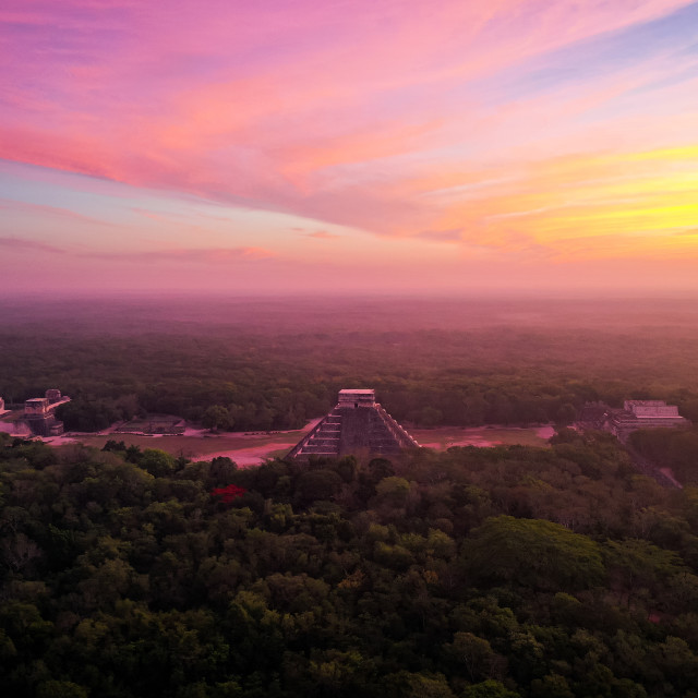 """Chichen Itza 4"" stock image"
