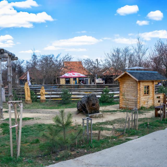 """New Vasyuki Country Family Recreation Area"" stock image"