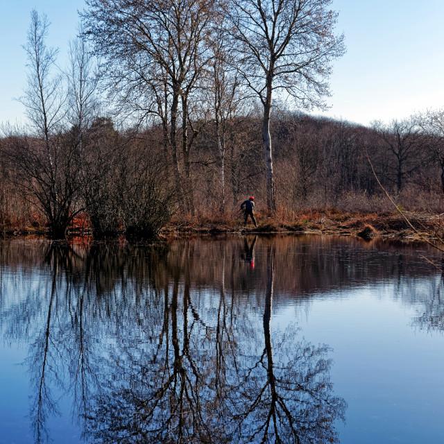 """""""Coquibus pond"""" stock image"""