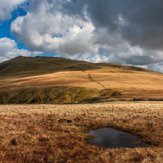 """Whin Rigg Wasdale"" stock image"
