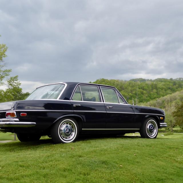 """""""Oldtimer Mercedes Benz"""" stock image"""