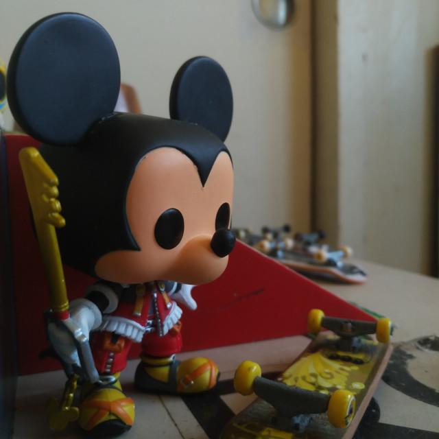 """Mickey in Wailuku"" stock image"