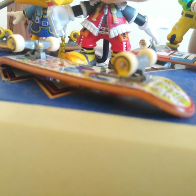 """Kingdom Hearts Trio"" stock image"