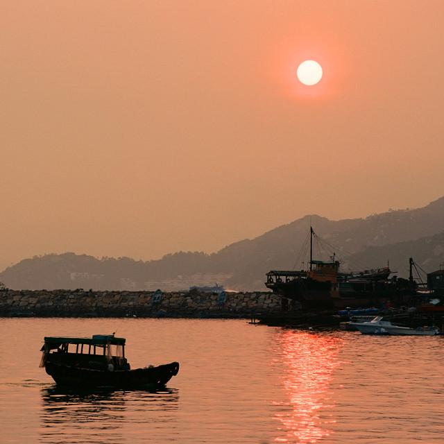 """""""Cheung Chau, Hong Kong"""" stock image"""