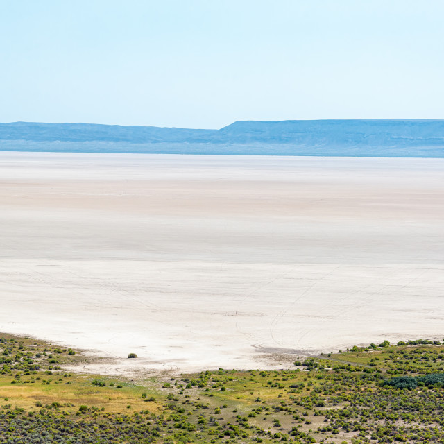 """Dry Arid Alvord Desert in Oregon"" stock image"