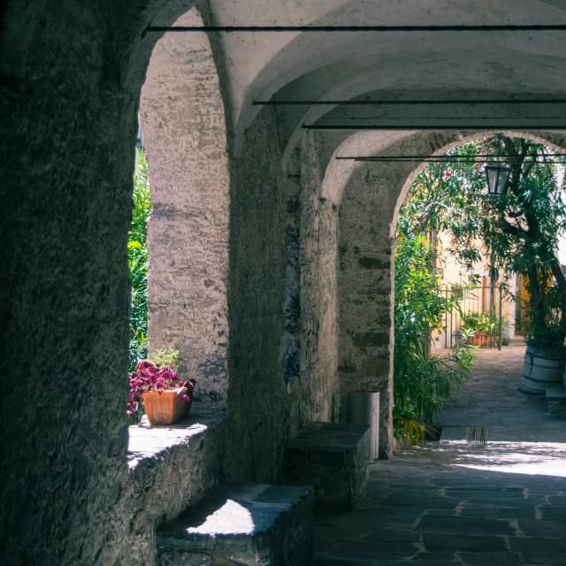 """Sentiero Di Gandria"" stock image"