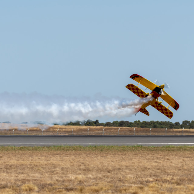 """""""Wolf Pitts Pro by Paul Bennet Airshows at Avalon Airshow 2019 //"""" stock image"""