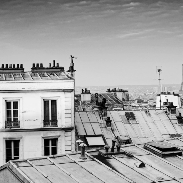 """Paris Grey"" stock image"