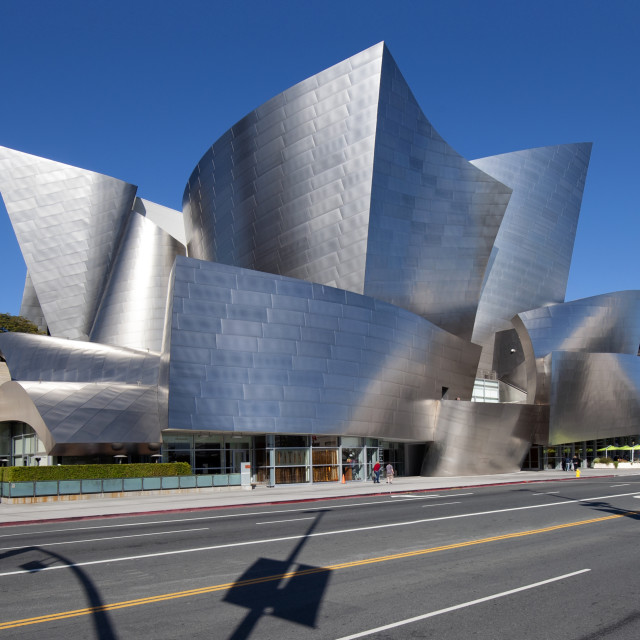 """Walt Disney Concert Hall, Los Angeles"" stock image"
