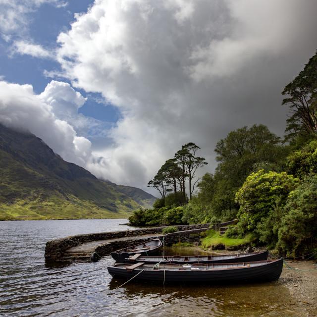 """Doo Lough, County Mayo, Ireland"" stock image"