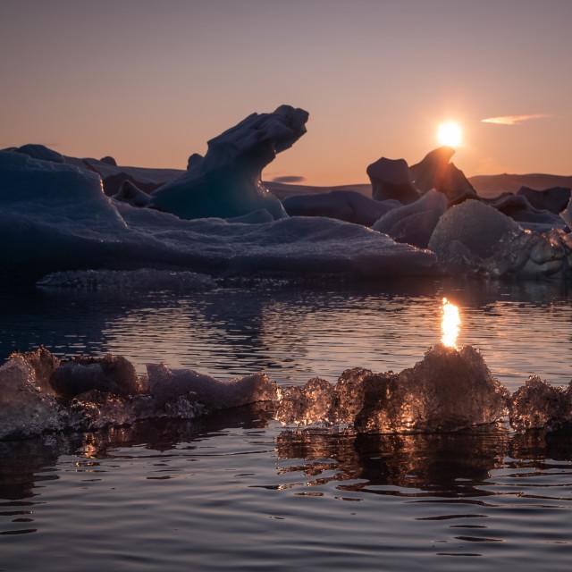 """Jokulsarlon - Iceland"" stock image"