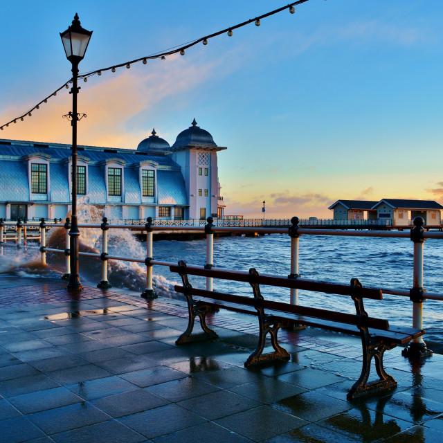 """Penarth Pier"" stock image"
