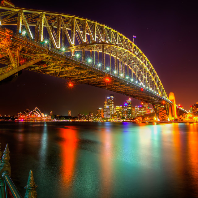 """""""Bridge over Troubled Waters"""" stock image"""