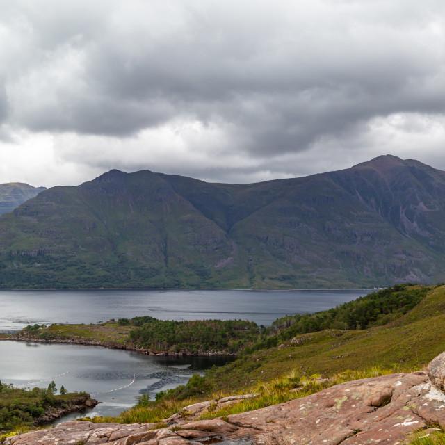 """Loch Torridon"" stock image"