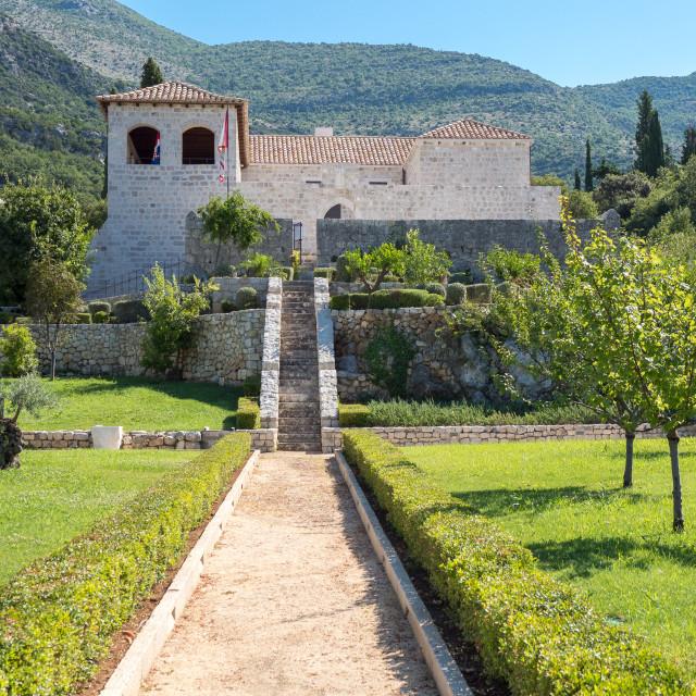 """Rector's Palace in Slano, Croatia"" stock image"