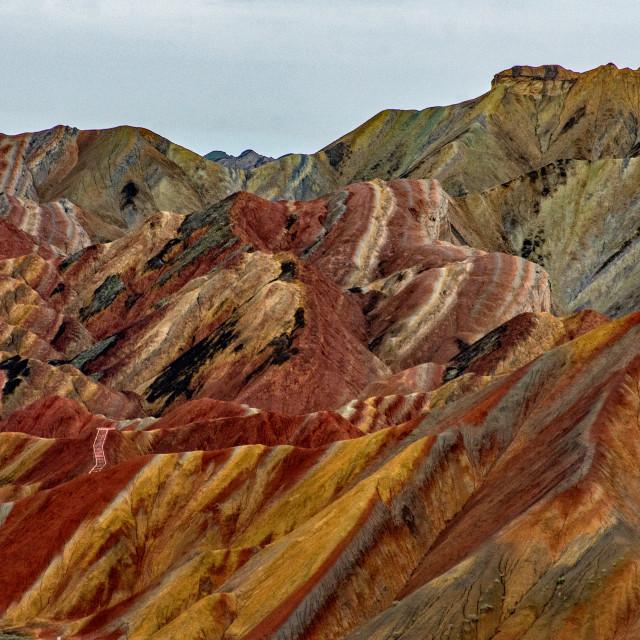 """Zhangye National Geopark"" stock image"