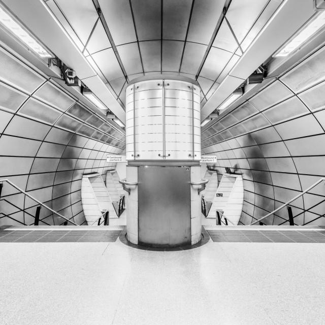 """""""Southwark Tube Station, London, UK (I)"""" stock image"""