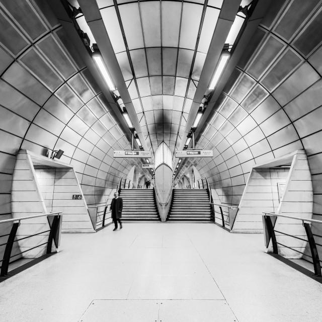 """""""Southwark Tube Station, London, UK (II)"""" stock image"""