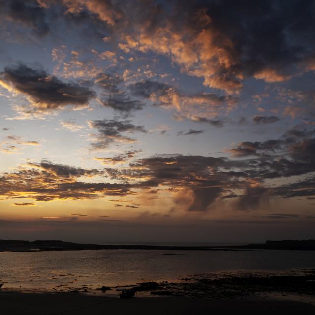 """Longis beach sunrise #3"" stock image"