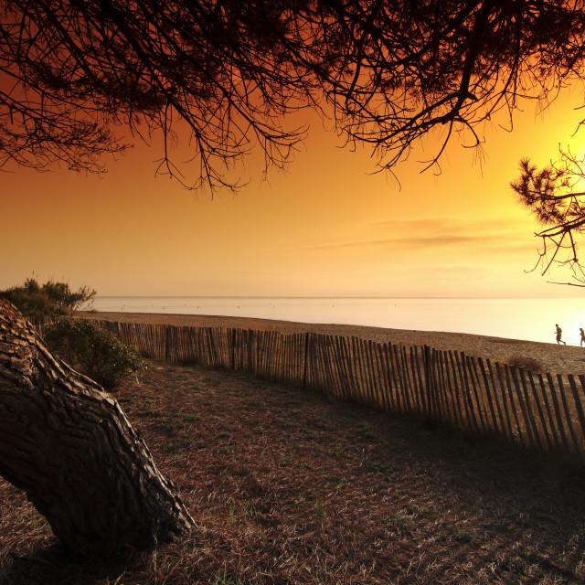 """""""Figaretto beach"""" stock image"""