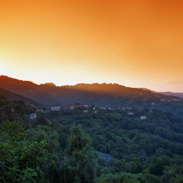 """San Nicolao village"" stock image"
