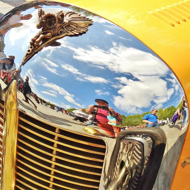 """Car Fest Salisbury."" stock image"