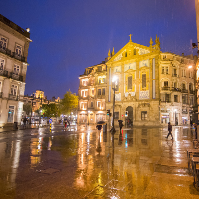 """""""EUROPE PORTUGAL PORTO OLD TOWN"""" stock image"""