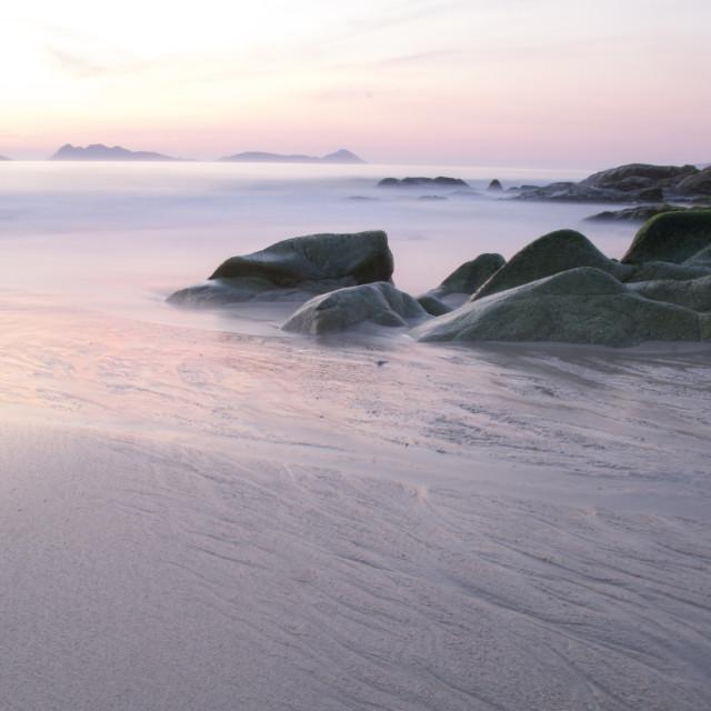 """Saians Beach"" stock image"