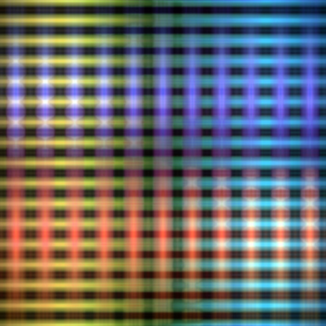 """""""Colourful glowing lights grid pattern"""" stock image"""