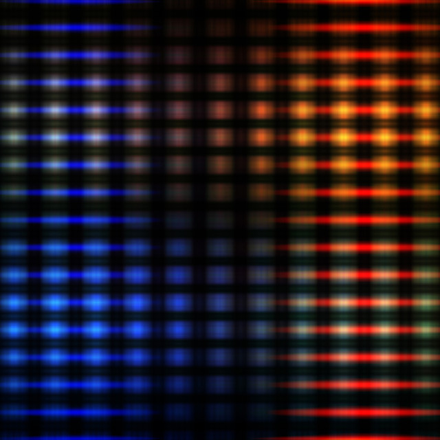 """""""Colourful glowing lights"""" stock image"""