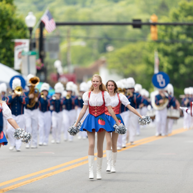 """West Virginia Strawberry Festival 2019"" stock image"